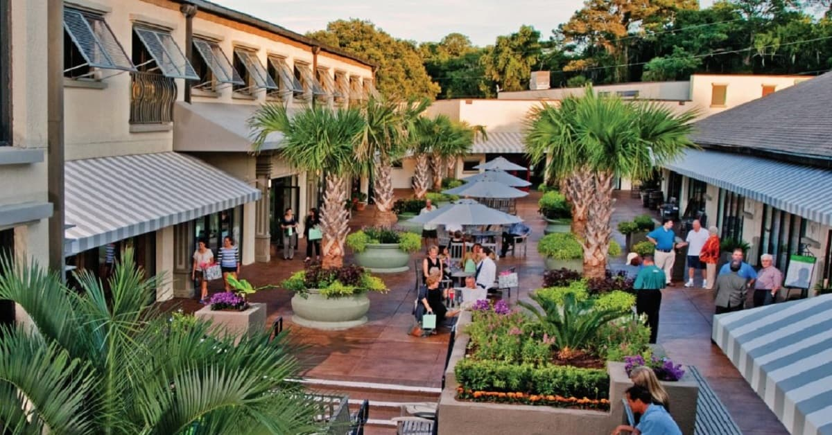 The Shops at Sea Pines Center offers the best in Hilton Head shopping