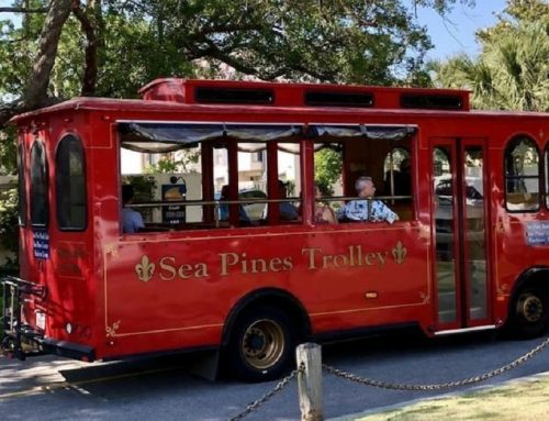 The Charm of the Sea Pines Trolley
